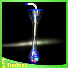 cheap glass cup, led Cup, childrens drinking glass cup