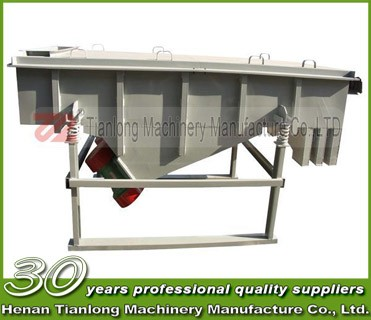 high efficient concrete aggregate China linear vibrating screen with production line