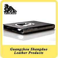 Promotional Portable Business Name Card Case with Leather Cover