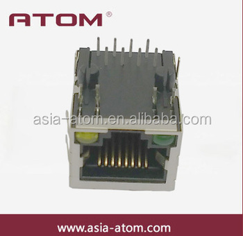 Metal Shielded 8p8c Ethernet Jack Cat5 Rj45 Connector - Buy Metal ...