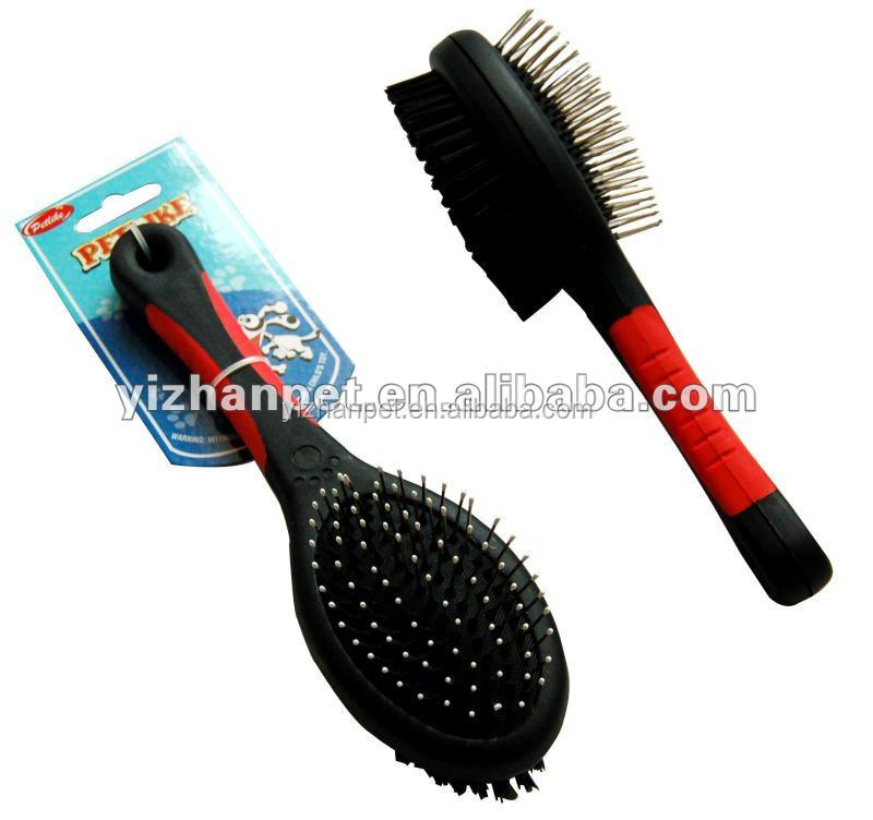 high quality pet Grooming brushes Private label pet self cleaning grooming dog brush