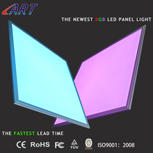 shenzhen RGB+cct ultra slim led panel light in 10 MM , manufacture led panel light square