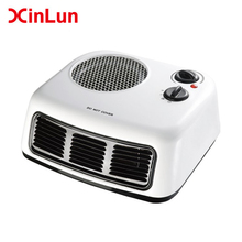 China factory adjustable thermostat simple portable mini easy home appliance 110v 220v 2000w electric fan heater