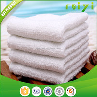 Custom White Cotton Restaurant Wet Towels High Quality