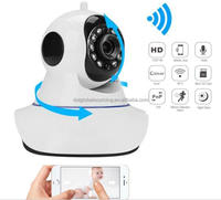 Hot Sale HD 720p Wireless Ip Security Wifi Network Night Hd Vision Ir Outdoor CCTV Home P2P Webcam Wireless Security Camera