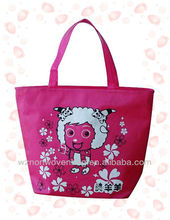 non woven polypropylene imprint promotional tote bag