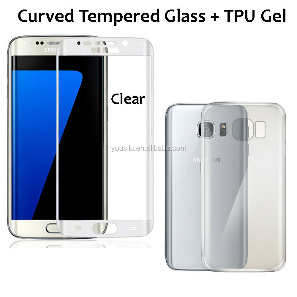 2017 Chinese factory wholesale smart Tempered glass screen protector,for samsung S7 S7 EDGE