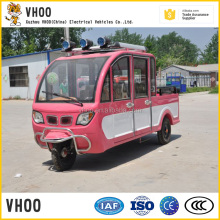 new design loading tricycle with 4 seats/semi-closed trike with smart cab