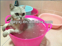 colorful plastic pet washing buckest,HOT pet products,China supplier