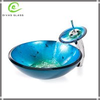 Glass Sink Countertop