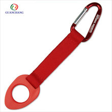 New hot products on the market short strap water bottle holder,short strap with carabiner clip,promotional gift items