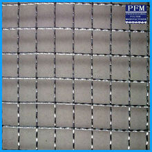 Durable stainless steel crimped wire mesh for barbecue