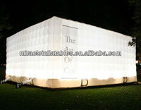 LED lighting cube tent, inflatable tents C1020
