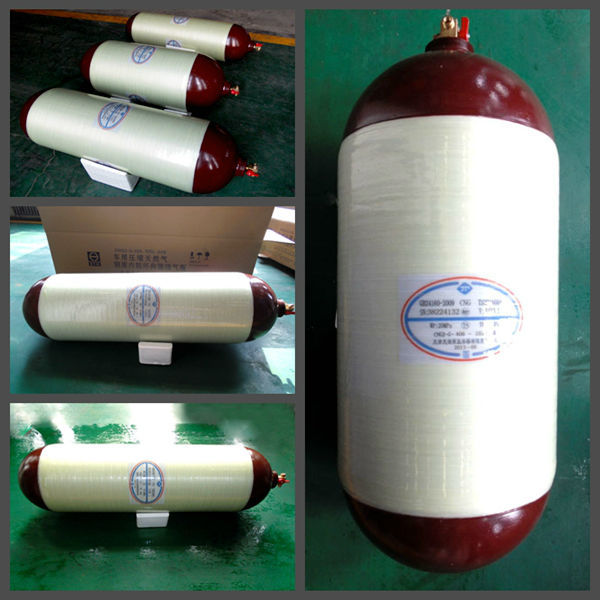 CNG Cylinder Type 1/2/3/4 European Market Seamless Steel CNG Bottle