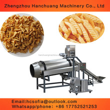 wheat starch puffed snacks foods production expanding machine