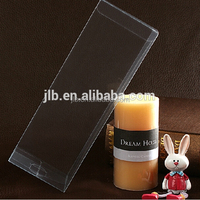 Custom printing PVC clear candle packaging box