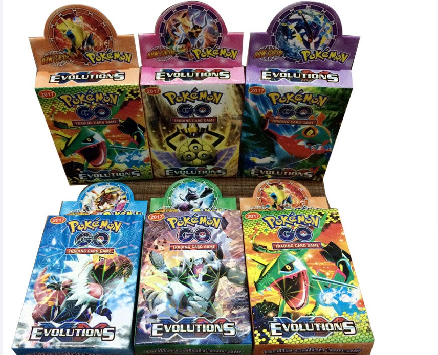 2017 Pokemon Mega Cards, Wholesale Pokemon Game Cards, Pokemon Playing Card for Children