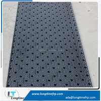 Cross flow Cooling Tower Infill Packing,750mm*1600mm Black PVC sheet fill media for cooling tower