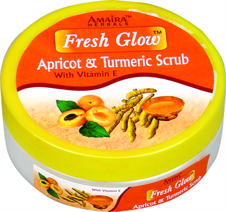 Apricot & Turmeric Herbal Scrub