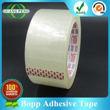 Bopp Acrylic Adhesive and Water Activated Adhesive Type Transparent Carton Packing Tape