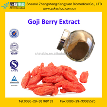 GMP Factory Supply Natural Goji Berry Extract Powder
