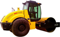 Chinese LT214 mechanical drive roller single drum vibratory roller road 14 ton