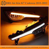 New Arrival High Quality LED Daytime Running Light for Kia K7 Cadenza Super Bright LED DRL for Kia K7 Cadenza 2011 2012