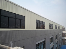 china low cost prefab light steel structure insulated warehouse for sale
