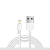 Pvc For iPhone Cable Charger High Quality Usb Data Line 2.1A Fast Charging USB Cable For Apple Charging Chord For Iphone Charger