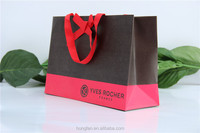 High Quality Cosmetic Paper Shopping Bag with Embossing