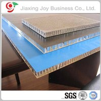 Building material high strength honeycomb panel for fireproof board