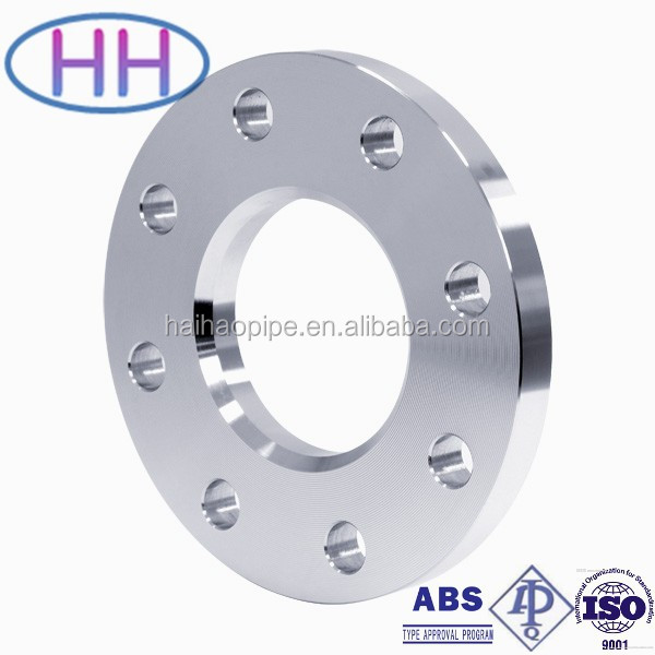 JIS 5K/10K/16K/20K SS 400 Forged Steel Slip on Flange with no hub