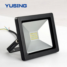 Ultra Slim SMD2835 IP65 20W 1400lm Security LED Flood Light Outdoor For Plaza