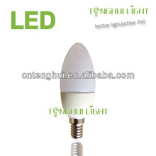Dimmable candle led replacement for halogen lamp