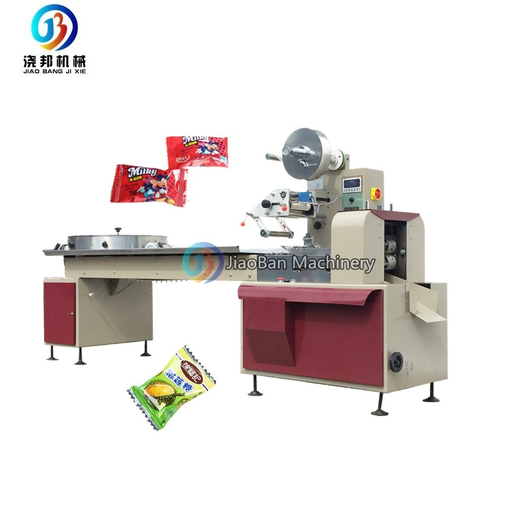 Save Labor Shanghai Factory JB-800 Automatic Pillow Candy/Chocolates Sugars/Fruit Candy Packaging with CE
