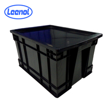 LN-1524928 Moulding Injection Plastic Transport Box Packing Bins ESD Crate