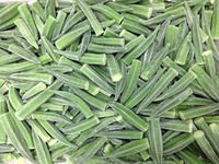 all the year supply most favorable price of IQF OKRA / frozen Okra