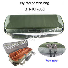 2014 new deisgn multi-function fly fishing rod bag