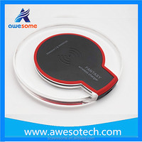 High quality 2016 hot selling qi wireless charger for lenovo mobile phone