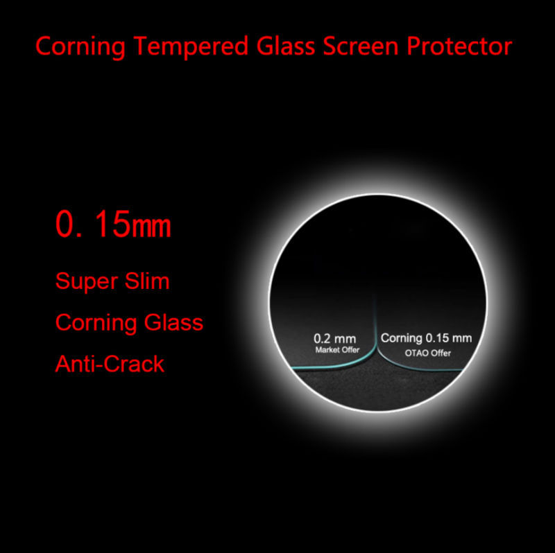 Fulljion genuine explosion-proof screen cover for Apple watch tempered glass screen protector 0.15MM sport edition factory price