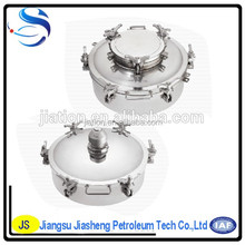 Circular 304 316L Stainless Steel Sanitary Tank Manhole Cover
