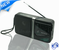 Worldwide reception, mini radio FM AM TV SW battery drive