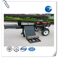 wood log cutter and splitter