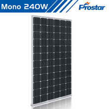 Prostar cheap monocrystalline silicon solar cell panel 240w