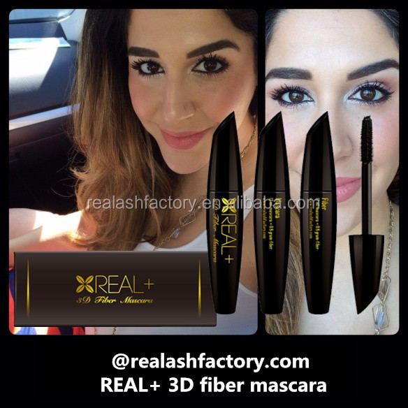 Regally yours REAL PLUS 3D fiber mascara/empty plastic mascara tube/investor wanted