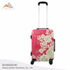 2018 Factory Polycarbonate PC ABS Trolley Luggage Carry Bag