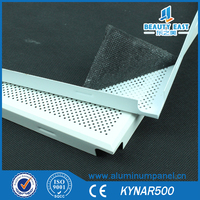 B1 Grade Perforated/Plain Fireproof/Insulated Aluminum Ceiling Panel