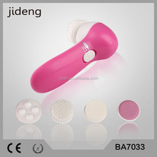 Rotating 2*AA Battery Powered cleaning facial brush Electric Facial Massager and Brush