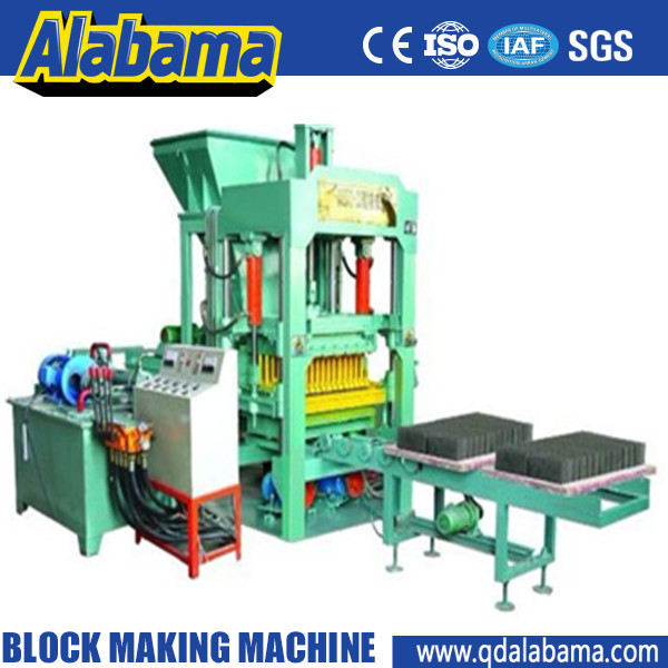 strict quality supervision hydraulic transmission automatic building materials bricks machine