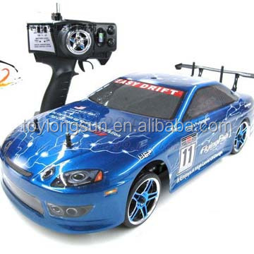 2016 new product Five function speed remote control car battery charger 1/10 rc car Drift Car ERC123